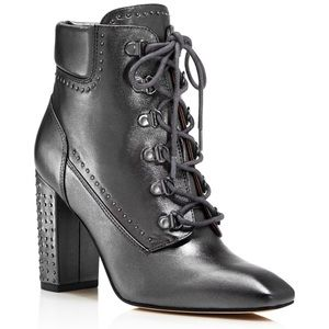 Sigerson Morrison Valera Leather Studded Bootie